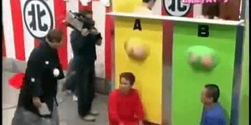TV Japonesa Juegos Raros y Locos Parte 1 (Adivina Trasero de Hombre o Mujer)