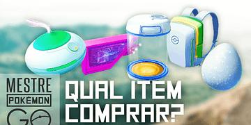 Economize dinheiro ao comprar itens no Pokémon GO!