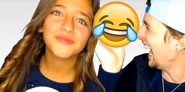 Si te ríes PIERDES (Nivel: Mi hermana es Semi-Dios) | Con mi hermana de 10 años 😱