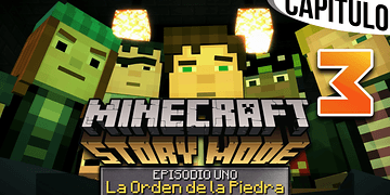 MINECRAFT: STORY MODE | Ep. 1 Cap. 3 LA GUARIDA DE IVOR Y EL WITHER | Gameplay en Español