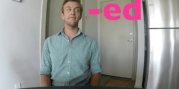 A pronúncia do '-ED' nos verbos de inglês com um falante nativo | Dica #9