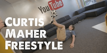 STR Freestyle - Curtis Maher Football Soccer skills - STRskillSchool