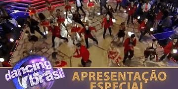 Em apresentação especial, Xuxa recebe as estrelas do Dancing Brasil