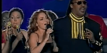 Gloria Estefan, Stevie Wonder & Big Bad Voodoo Daddy - Super Bowl XXXIII Halftime Show 1999