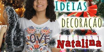Ideias para Decorar a Casa no Natal ♥