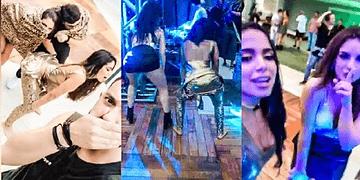 Kéfera e Anitta dançando Vai Embrazando no ANIVERSÁRIO #AnittanaSelva 30/03/2017