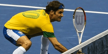 Roger Federer - Top 10 Puntos Imposibles de Creer