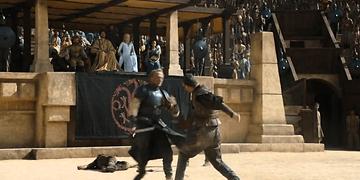Jorah Mormont en los Reñideros | Juego de Tronos Español HD