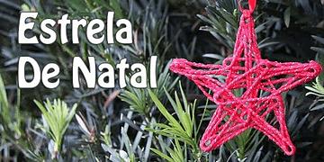 Estrela de Natal | Enfeite de Natal | Decorando sua árvore | Canal tô em casa