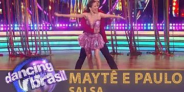 Maytê e Paulo encaram salsa e contagiam a plateia