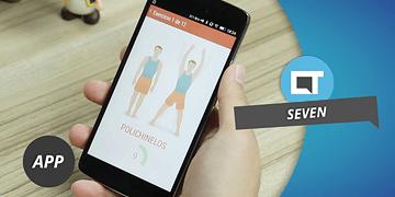 Seven: entre em forma com 7 minutos diários de exercícios [Dica de App]
