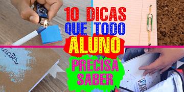 10 dicas que todo aluno deveria saber