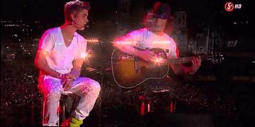 Justin Bieber - Concierto México Zocalo 2012 HD Parte 4/5