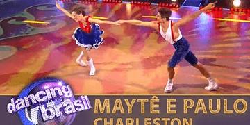 Maytê e Paulo encantam com charleston