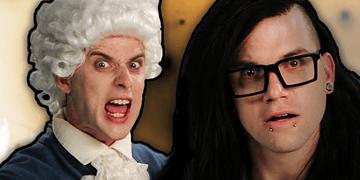 Mozart vs Skrillex. (Subtítulos en Español). Epic Rap Battles of History Season 2.