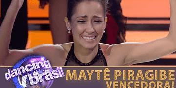 Maytê Piragibe vence o Dancing Brasil com 42,53% dos votos do público