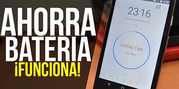 Como Ahorrar Batería en tu Android! FUNCIONA! 2017