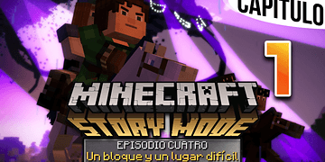 MINECRAFT: STORY MODE | Ep. 4 Cap. 1 EL ESCAPE DE LA TORMENTA WITHER | Gameplay en Español